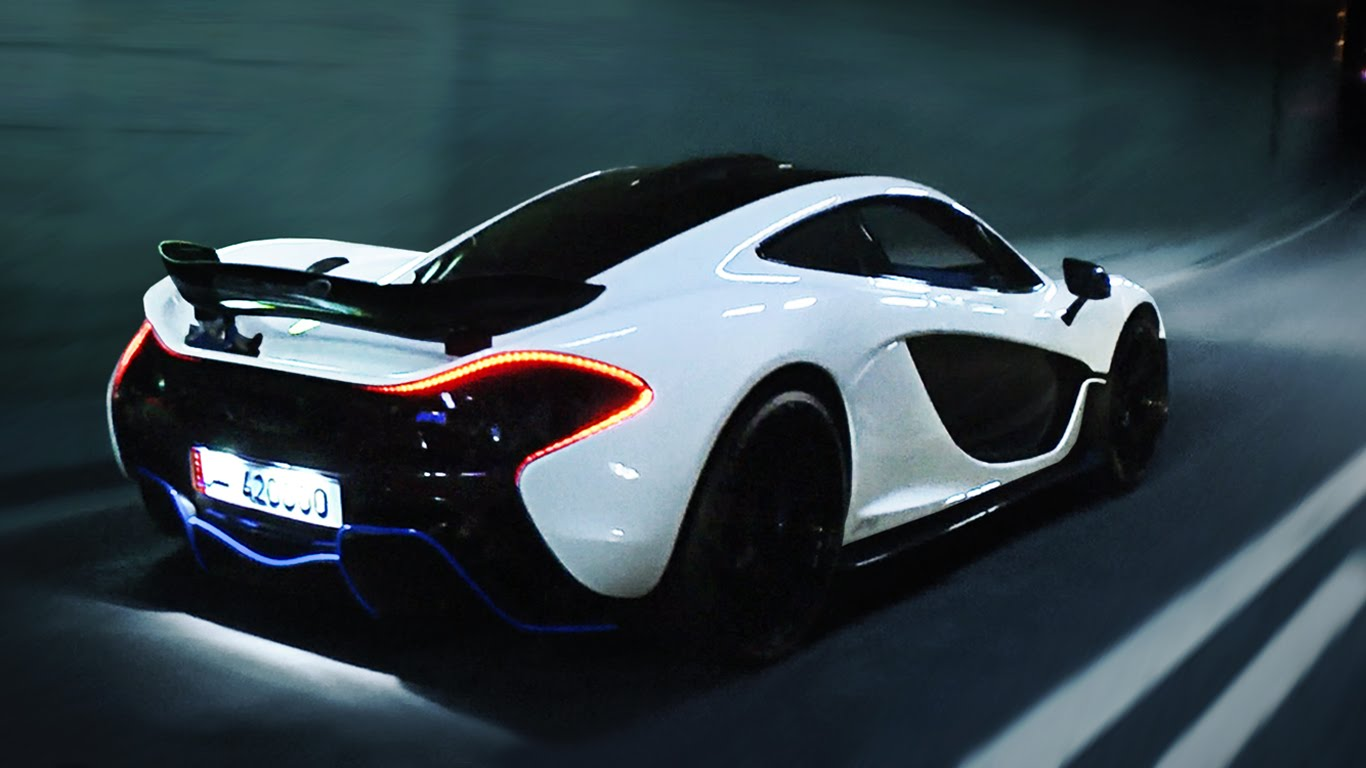 Video: White MSO McLaren P1 Hits London - GTspirit