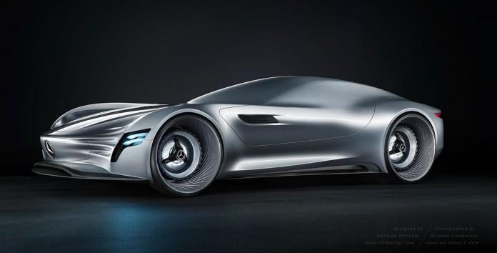 Mercedes-Benz concept front