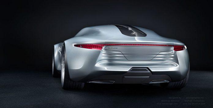 Mercedes-Benz concept rear