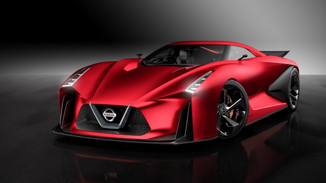 Red Nissan Concept 2020 Vision Gran Turismo