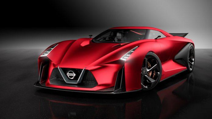 Red Nissan Concept 2020 Vision Gran Turismo