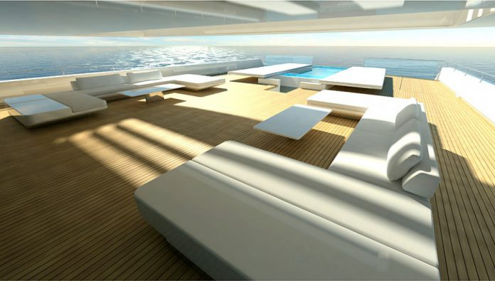 Acquaintance superyacht deck