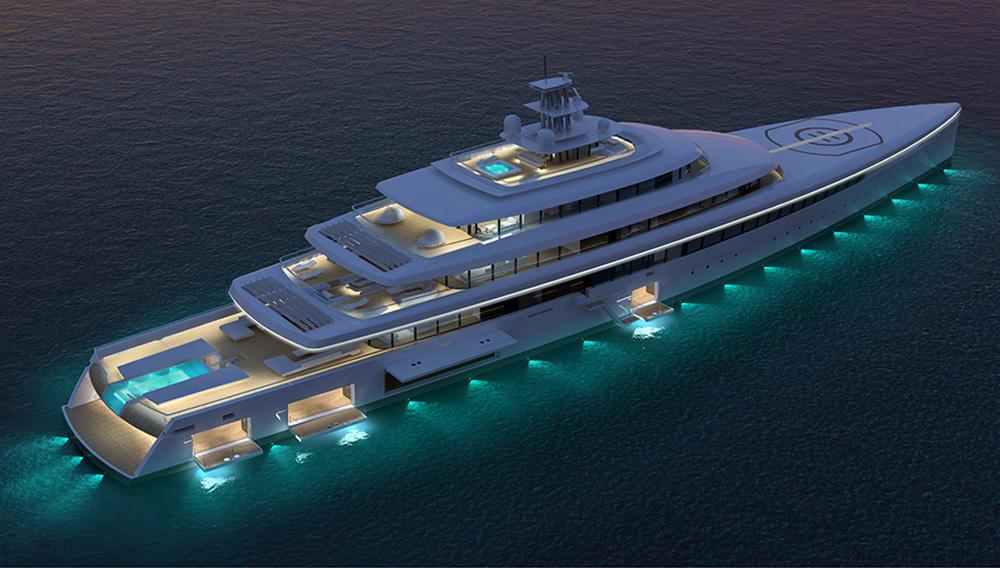 Acquaintance superyacht top