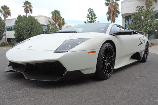 White Lamborghini Murcielago Sv For Sale Gtspirit