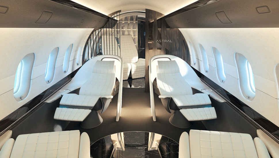yasava solutions reveals luxurious private jet cabin gtspirit. Black Bedroom Furniture Sets. Home Design Ideas