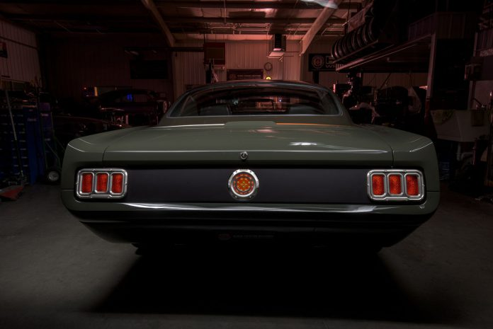 Ringbrothers Mustang rear