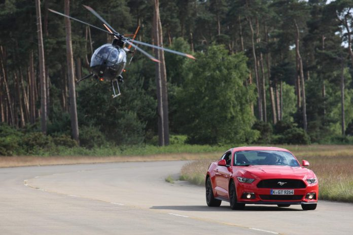 The Stig 2015 Ford Mustang  Stunt Car