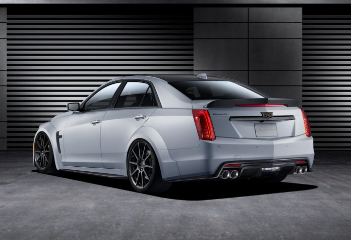 Hennessey Cadillac CTS-V rear