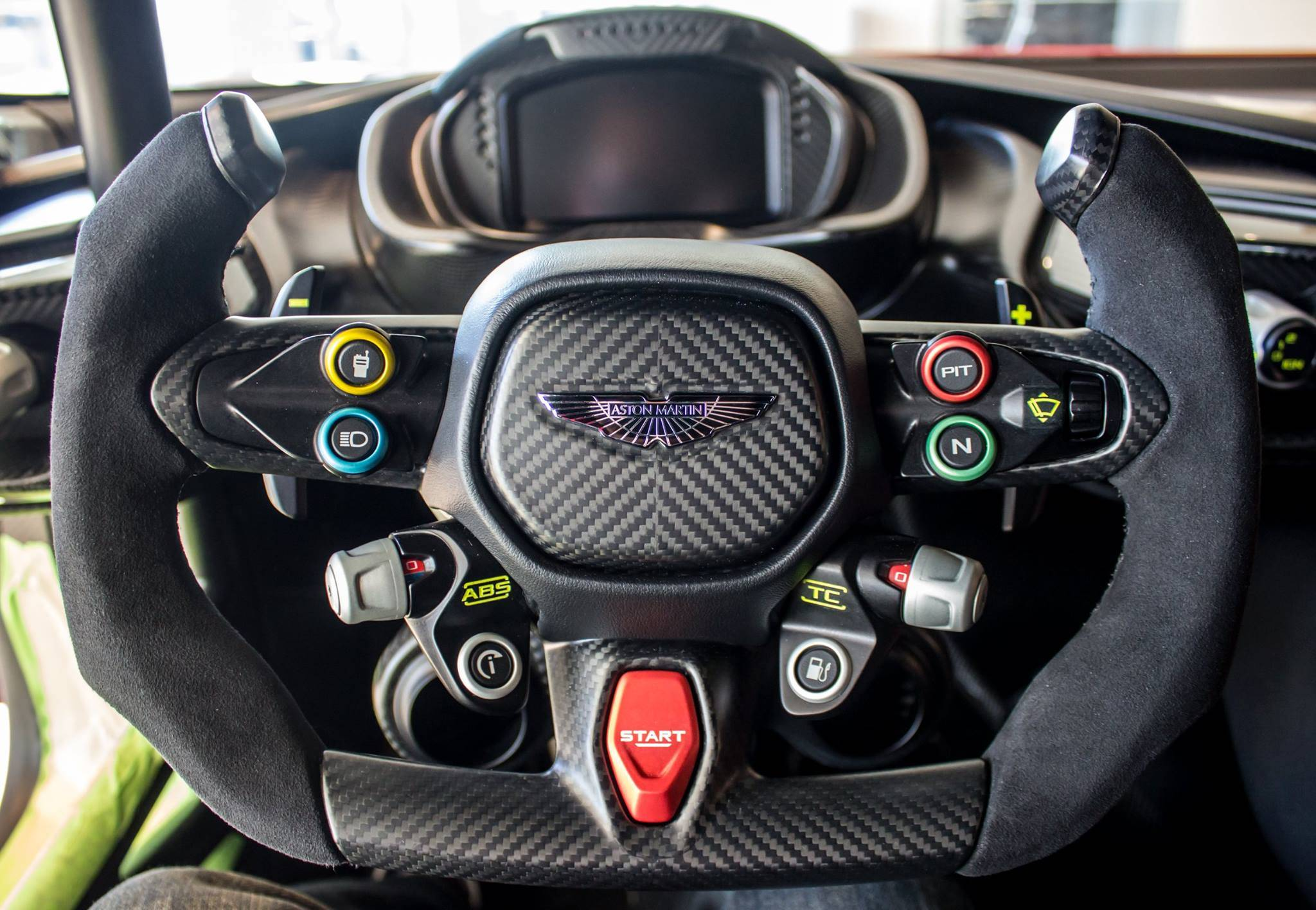 Modeler For A Aston Martin Vulcan Racing Steering Wheel