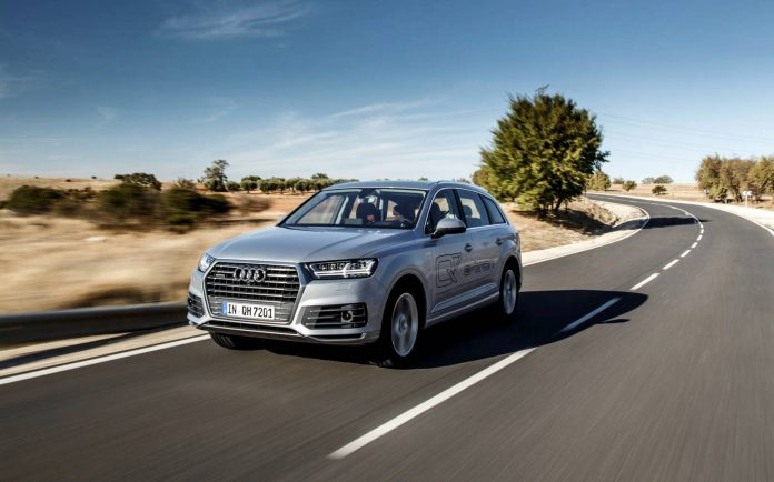 Audi Q7 e-tron review
