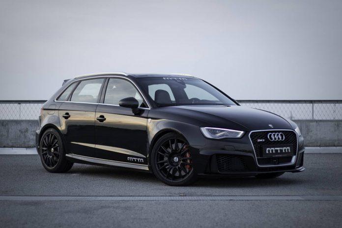 MTM Audi RS3 300km/h top speed