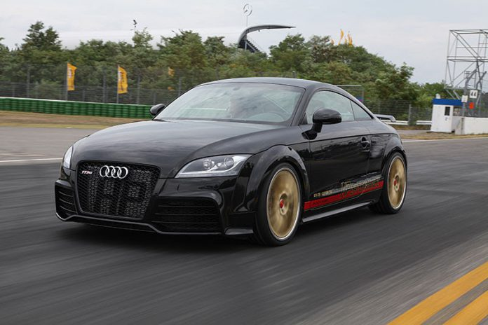 Audi TT-RS with 750hp