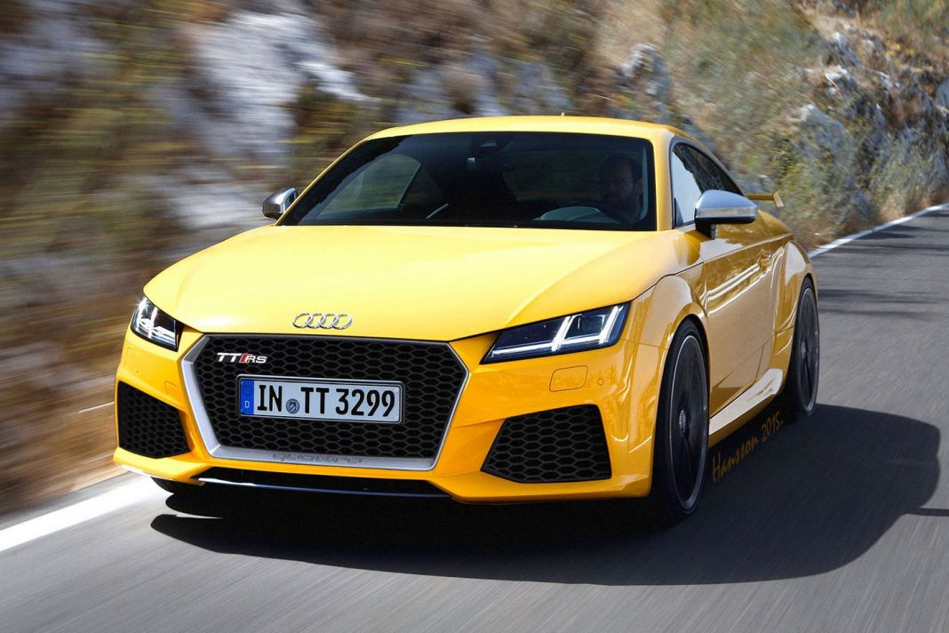 new audi tt rs masterfully rendered gtspirit. Black Bedroom Furniture Sets. Home Design Ideas