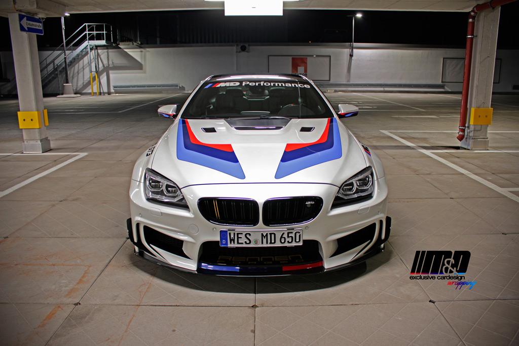 """BMW 650i """"GT3"""" Prior Design"""