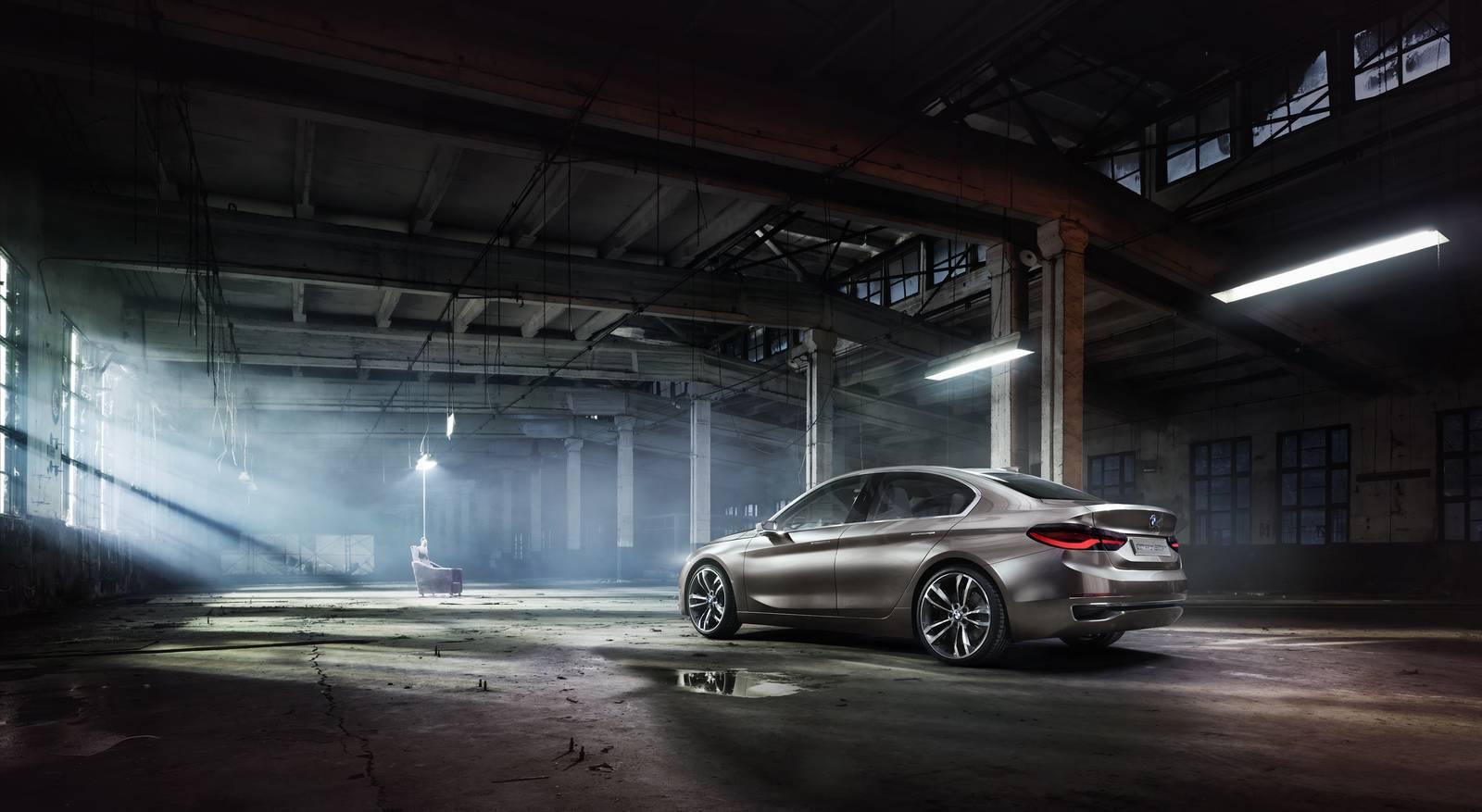 BMW Concept Compact Sedan China 2015