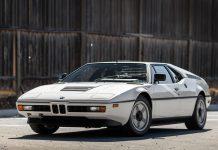 BMW M1 auction front