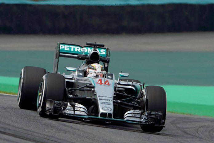Brazilian GP Lewis Hamilton