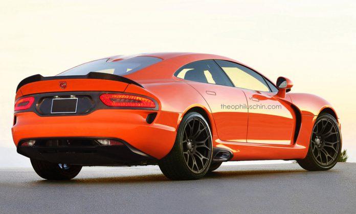 Dodge Viper sedan rear