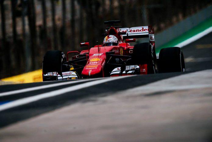 F1 Brazil GP Ferrari