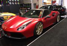 Ferrari 488 GTB Vossen Wheels