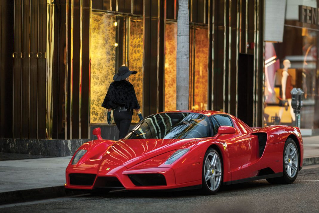 Ferrari Enzo auction front