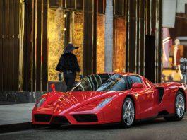 Ferrari Enzo auction front