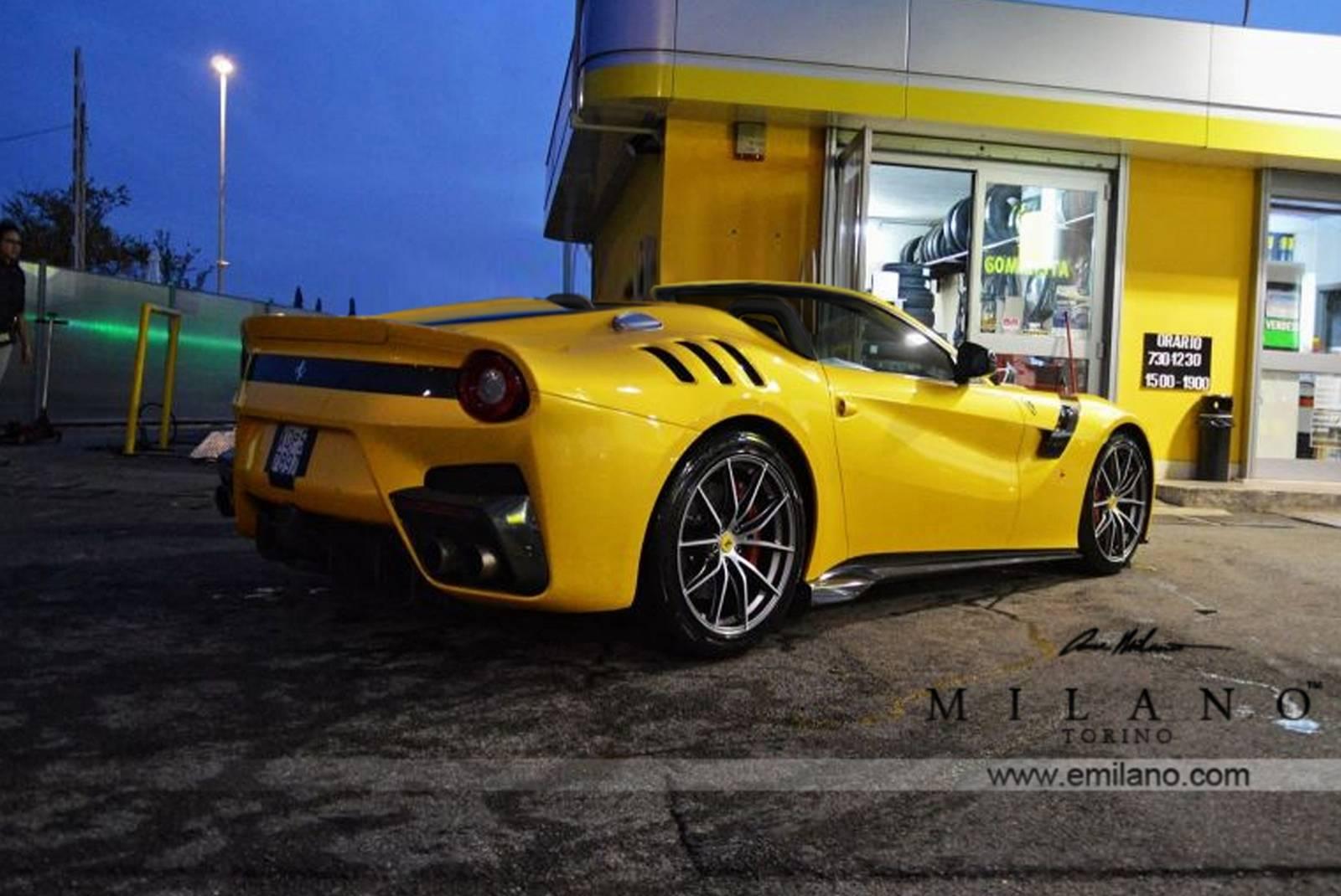 Ferrari F12tdf Aperta rear