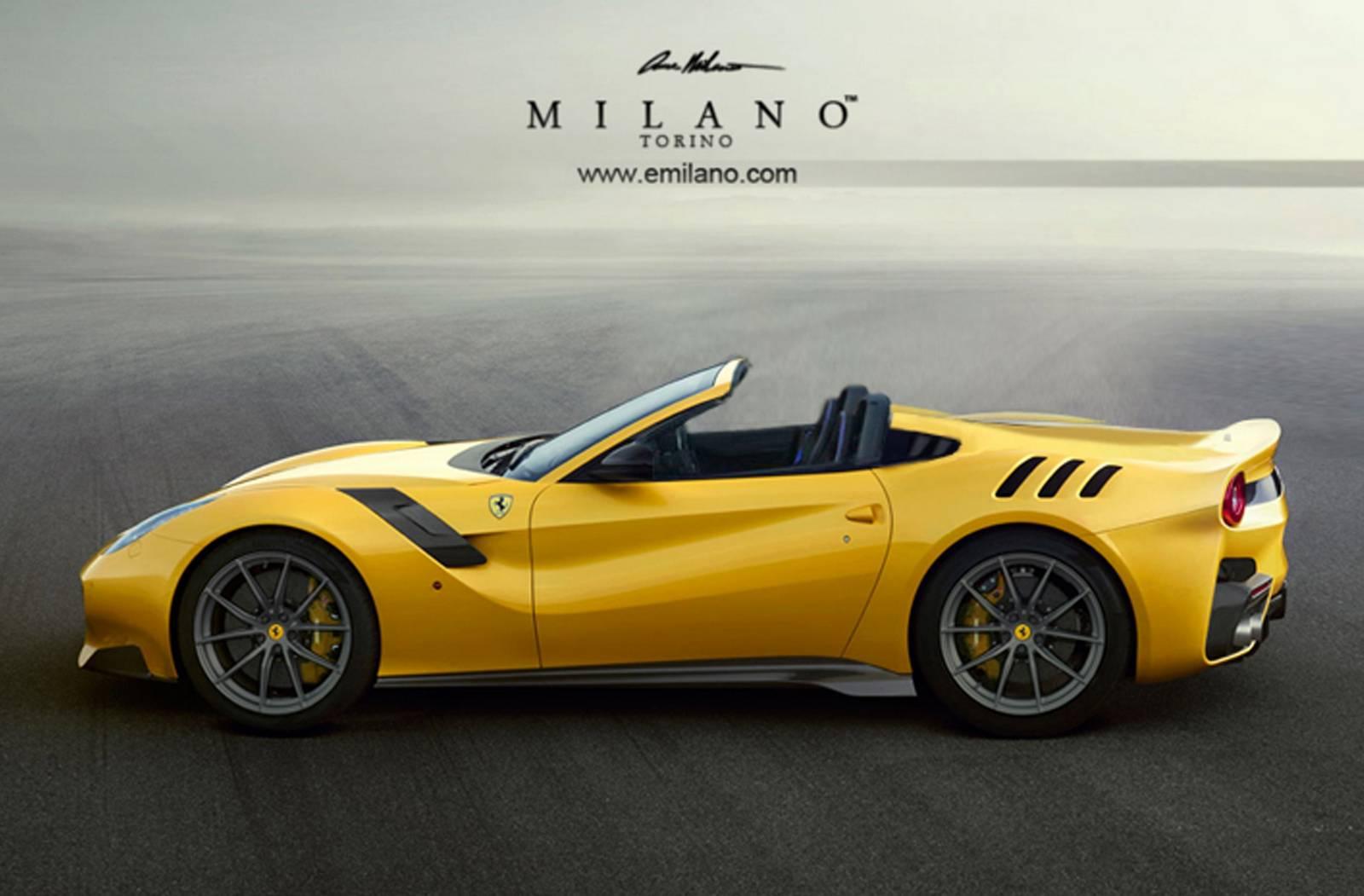 Ferrari F12tdf Aperta side