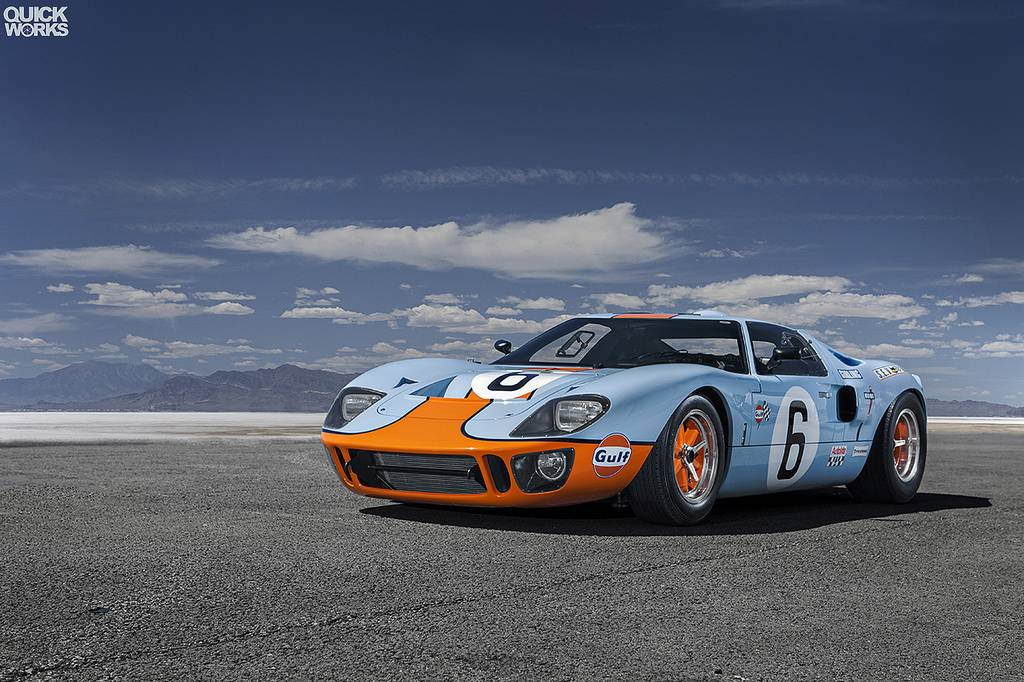 photo of the day stunning gulf ford gt40 gtspirit. Black Bedroom Furniture Sets. Home Design Ideas