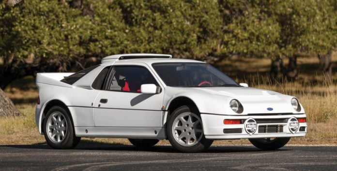Ford RS200 auction front
