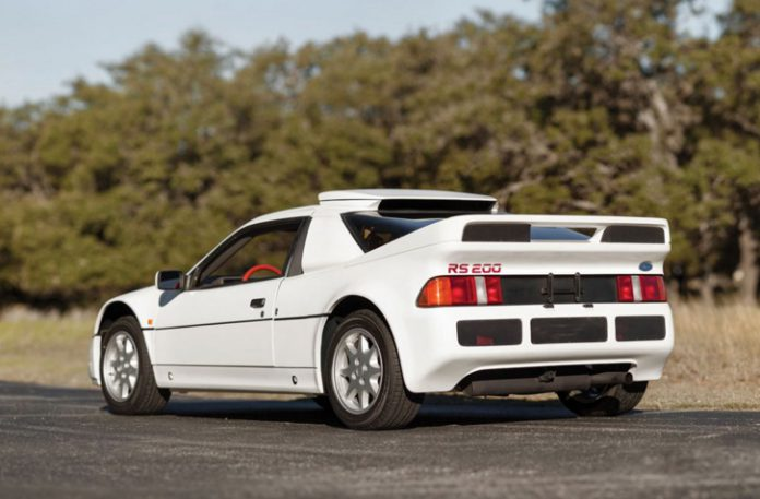 Ford RS200 auction rear