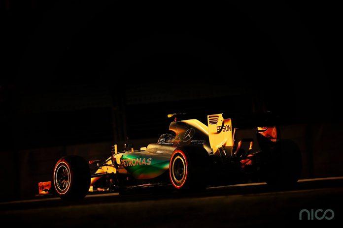 Nico Rosberg Formula 1 Abu Dhabi
