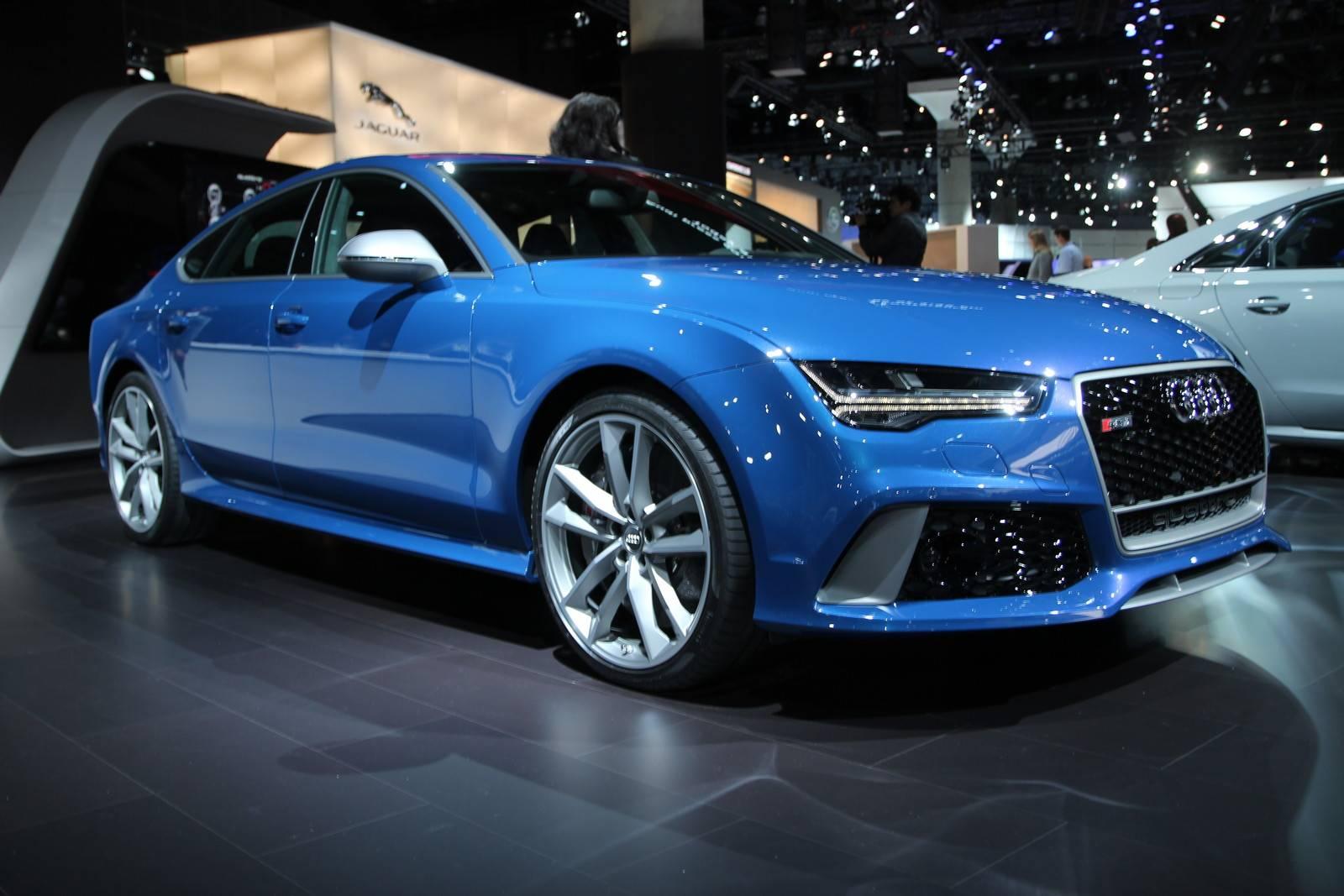 LA Auto Show 2015 Audi RS7 Performance