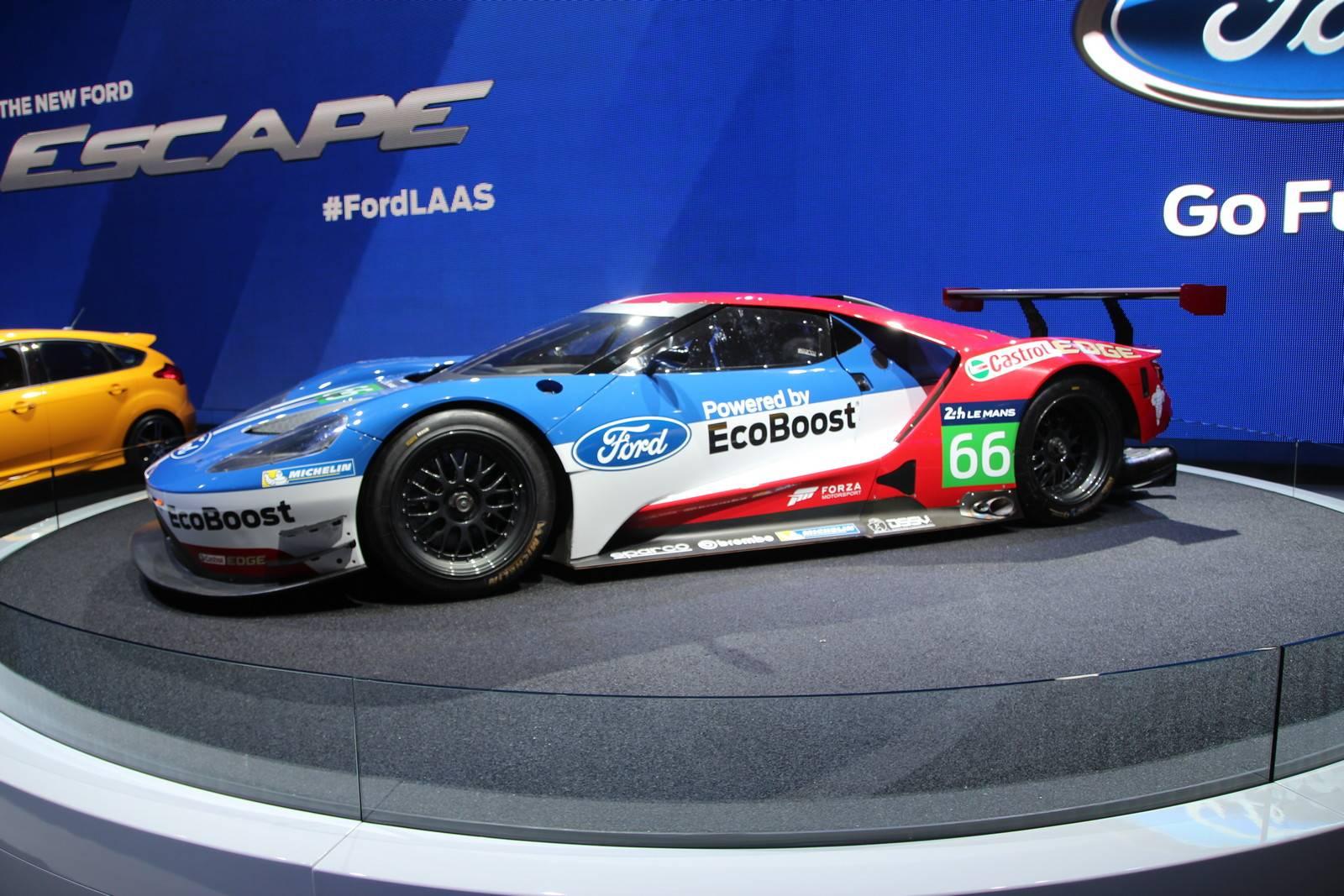 2017 Ford GT race car