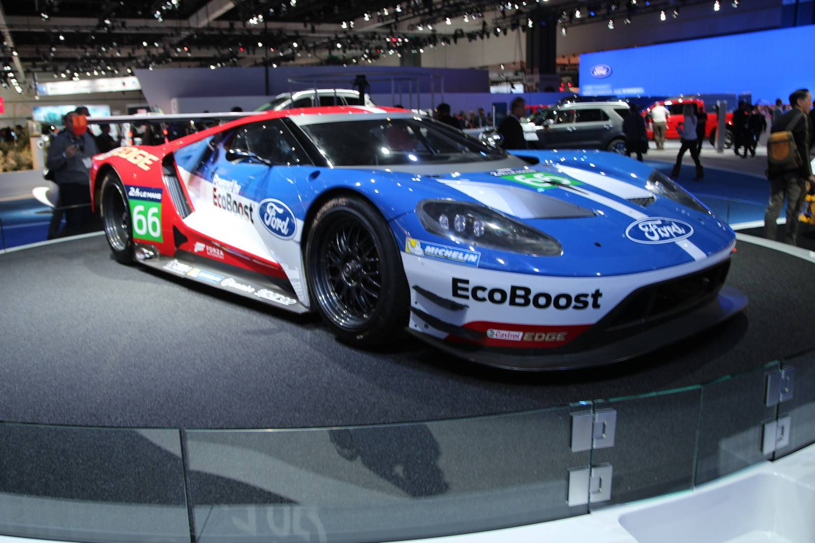 2017 Ford GT racer at LA Auto Show
