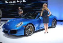 LA Auto Show Porsche 911 Targa 4S
