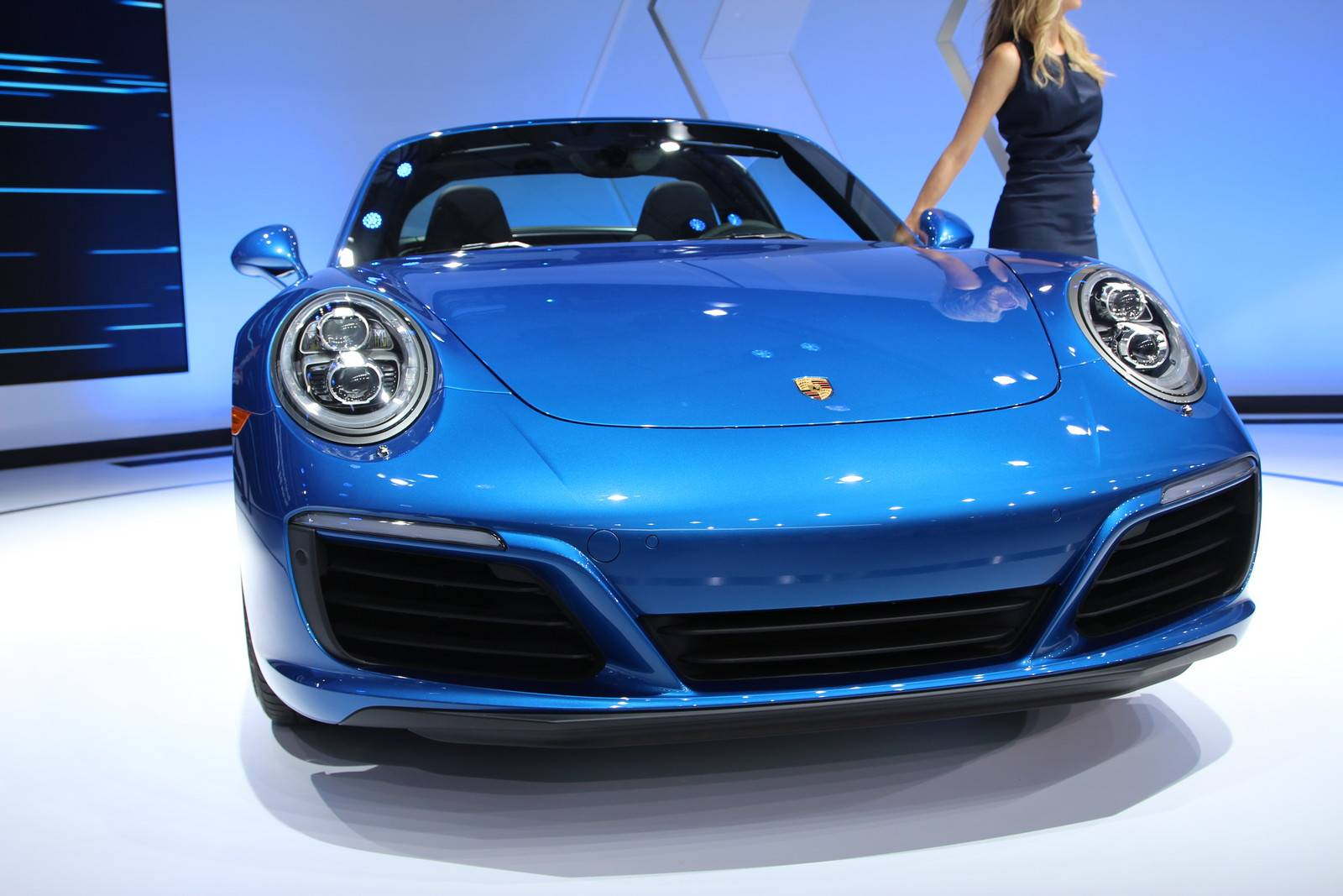 los angeles 2015 porsche 911 targa 4s gtspirit. Black Bedroom Furniture Sets. Home Design Ideas