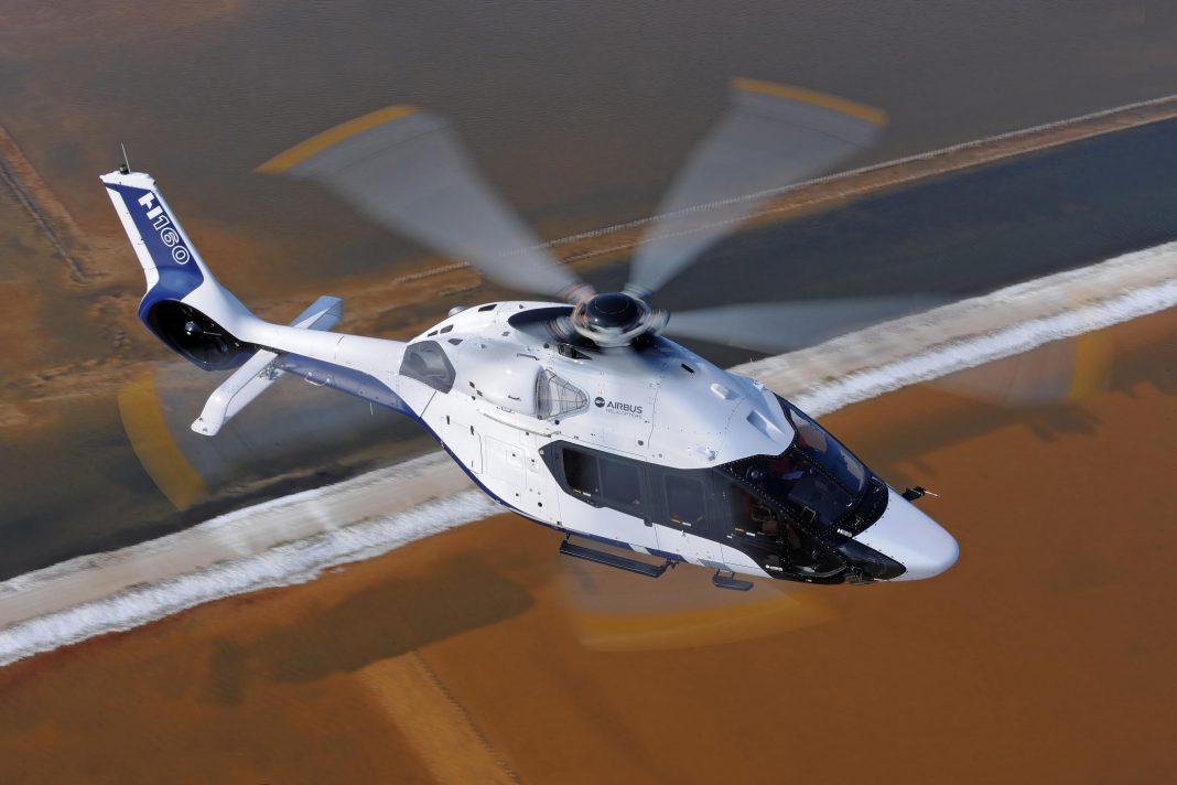airbus reveals new peugeot designed h160 helicopter gtspirit. Black Bedroom Furniture Sets. Home Design Ideas
