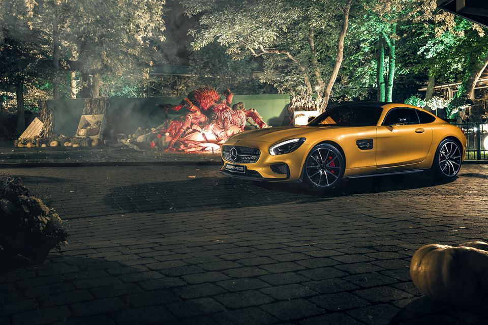 Halloween Mercedes-AMG GT