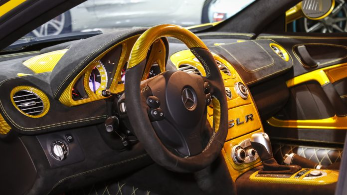 Hamann SLR For Sale interior