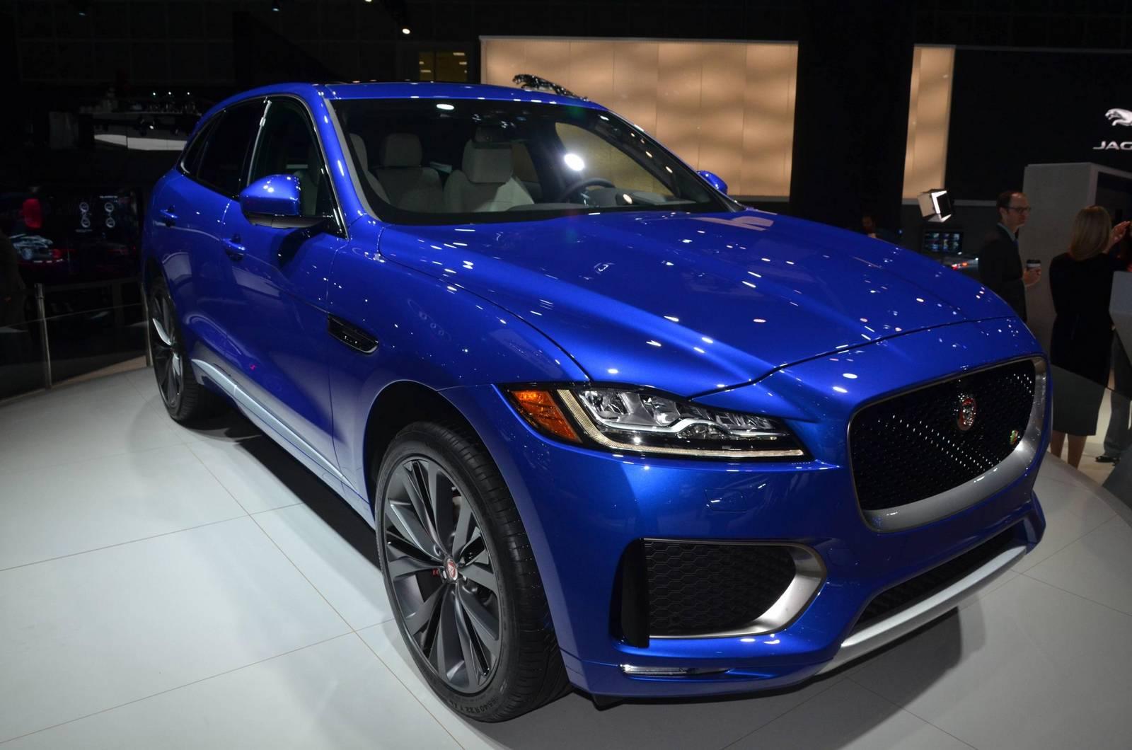 Los Angeles 2015: Jaguar F-Pace - GTspirit