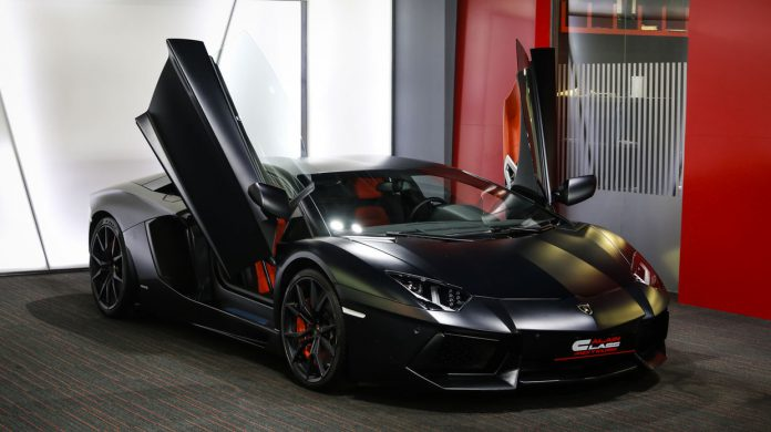 Lamborghini Aventador for sale front