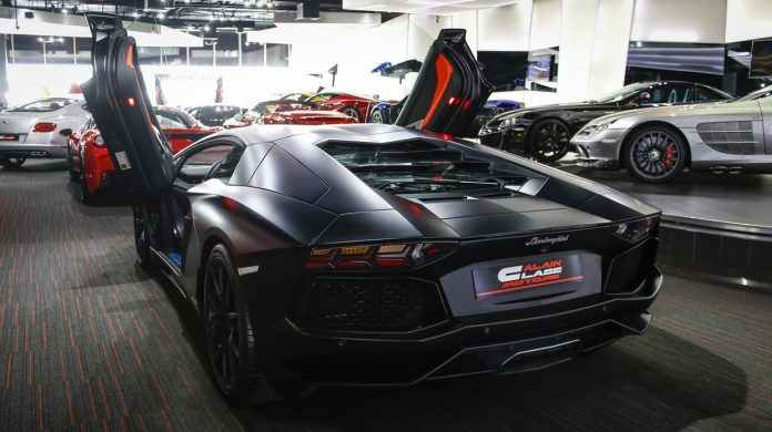 Lamborghini Aventador for sale rear