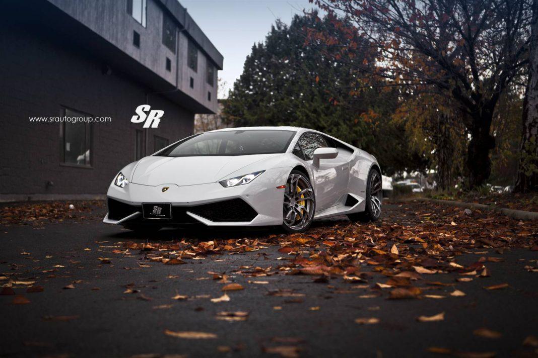 Lamborghini Huracan with PUR Wheels