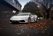Lamborghini Huracan with PUR Wheels