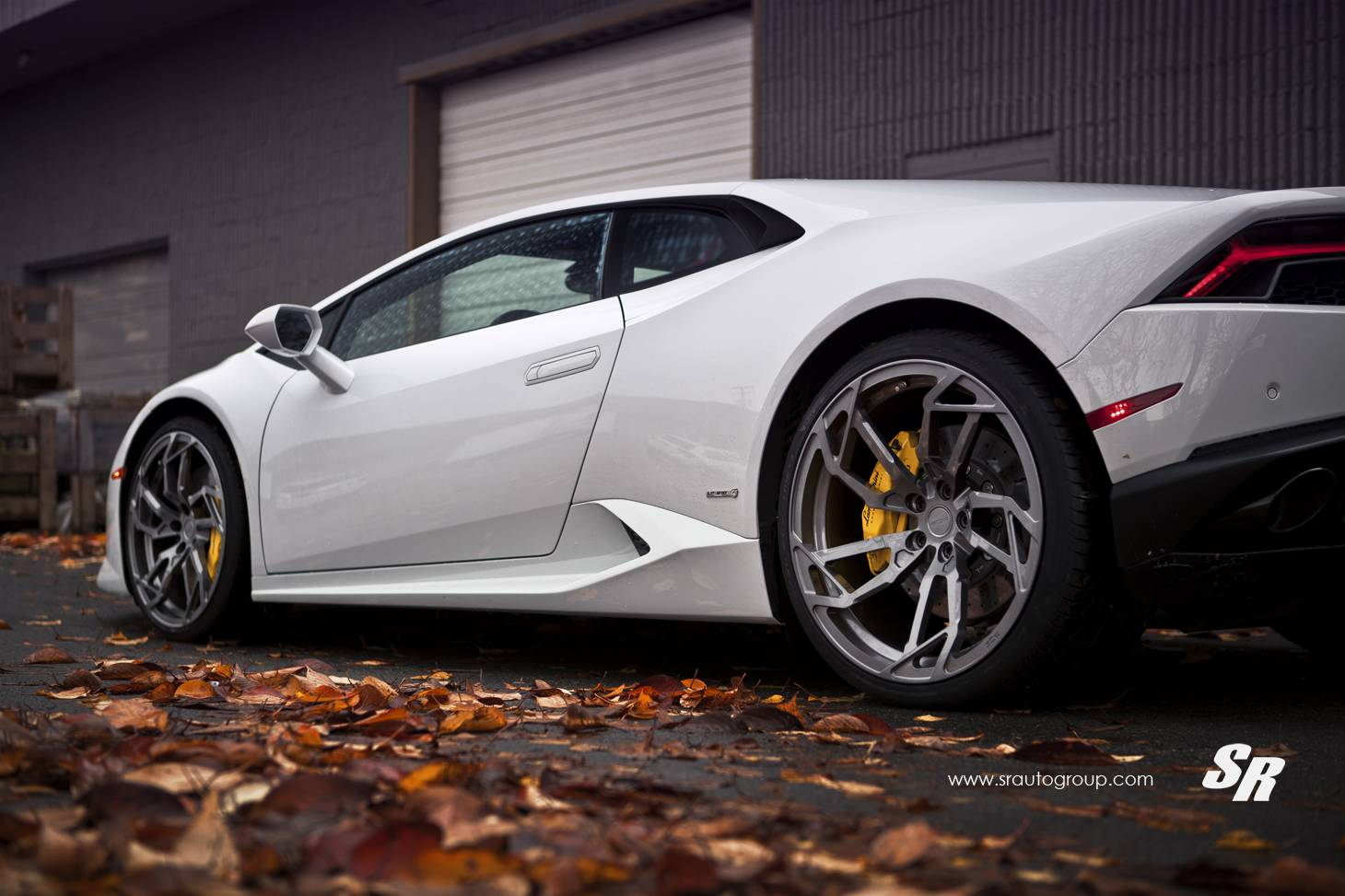 lamborghini huracan on gloss anthracite pur wheels gtspirit. Black Bedroom Furniture Sets. Home Design Ideas