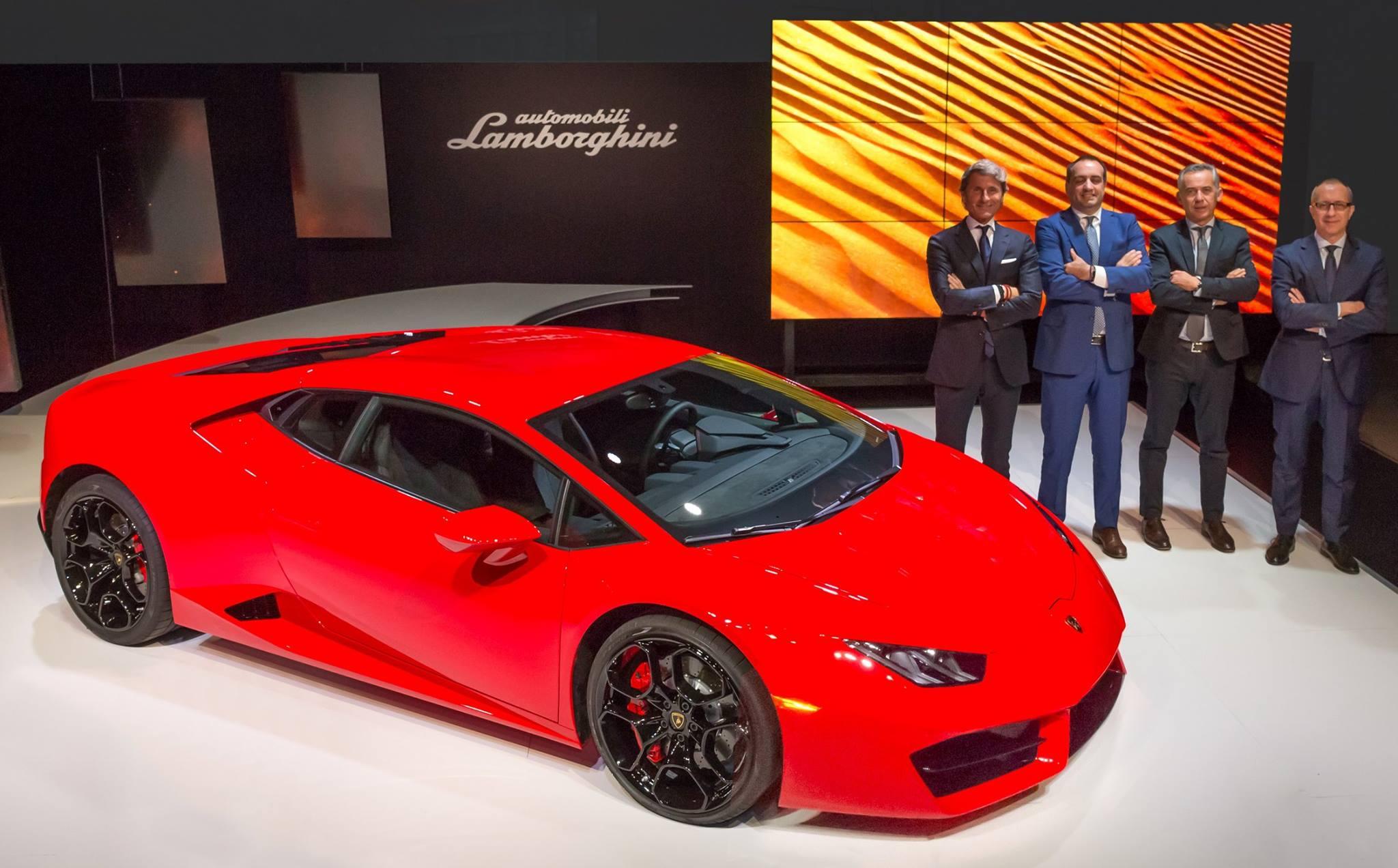 Lamborghini Huracán LP 580-2 LA Auto Show