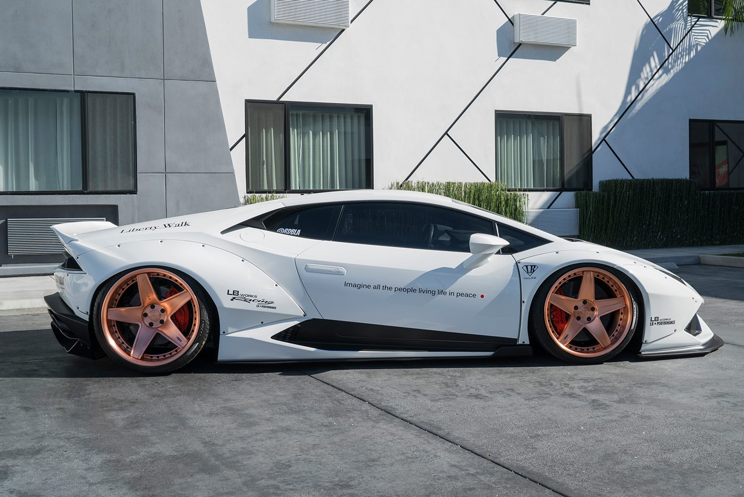 Liberty Auto Sales >> White Liberty Walk Lamborghini Huracan on Forgiato Wheels - GTspirit