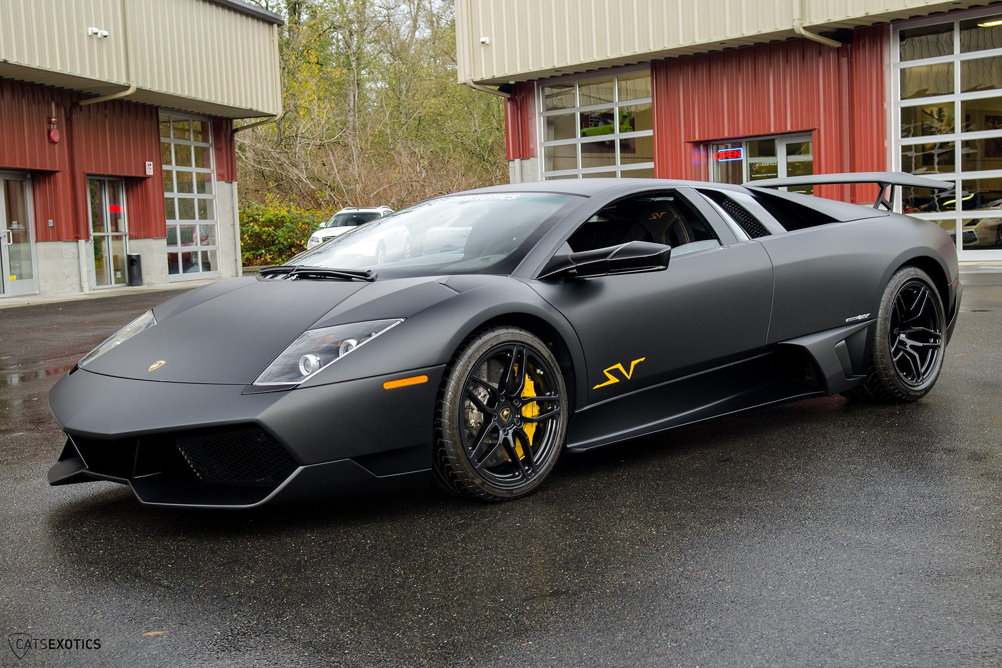 Nero Nemesis Lamborghini Murcielago Sv For Sale At