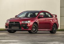 First Mitsubishi Lancer Evolution X Final Edition